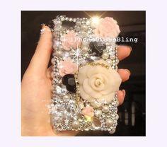 iPhone 4 Case, iPhone 4s Case, iPhone 5 Case, bling iphone 4 case, iphone 5 bling case, unique iphone 4 case, floral iphone 4 case, iphone 5 by iPhone5CaseBling, $22.98