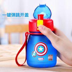 Disney Tritan Children Water Bottle For Baby Kids Feeding Water – You Wish Gift Bpa Free Water Bottles, Plastic Bottles, Wish Gifts, Thermal Insulation, Disney, Drinkware, Drink Bottles, Drinking, Baby Kids