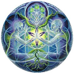 The Flowering of Divine Unification / Morgan Mandala / Sacred Geometry <3