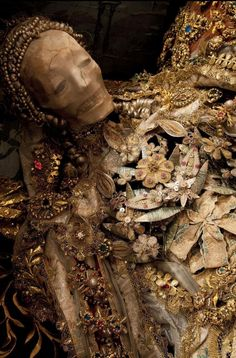 The decorated skeleton of St Luciana, at a convent in Heiligkreuztal, Germany, was comfort to Catholics whose churches and relics had been d...