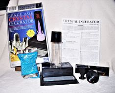 2001 Kristal Education Space Age Crystal Incubator: Quartz Citrine Open Box NEW   Toys & Hobbies, Educational, Science & Nature   eBay!