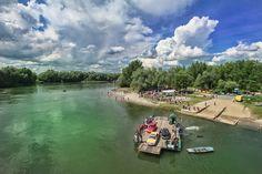 Drava: kupanje na pješčanim plažama, u jezeru, vožnja čamcem - Okusi.eu Croatia