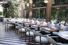Cecconi's Restaurant Sister Restaurant to SOHO house 8764 Melrose Avenue Los Angeles, 90069