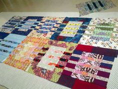 an entire quilt of Just Passing Through!
