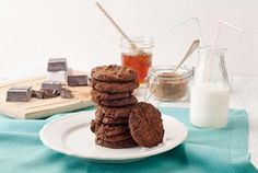 Post image for Gluten Free Sunbutter Chocolate Chunk Cookies Recipe