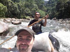 Per Schlauchboot zurück in die Zivilisation #taipan_indonesien #Indonesien #sumatra