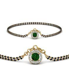 emerald-halo-drop-mangalsutra-bracelet-in-MGSBRC8999GEMGRANGLE1-NL-YG