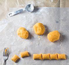 How to Make: 5 Ingredient Gluten Free Sweet Potato Gnocchi - vegan too!