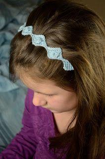 My Tunisian Crochet: Tunisian Crochet Entrelac Headband
