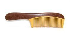 making wood combs  | Hua Mulan Sandalwood Comb - Project Vanity - Project Vanity