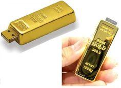 Altın Külçesi USB Bellek Sadece 42.00TL. Üstelik Kapıda Ödeme ve Kredi Kartına Taksit Avantajı İle