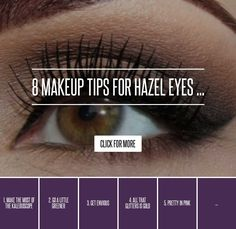 8. Accentuating Accents - 8 Makeup Tips for Hazel Eyes ... → Makeup