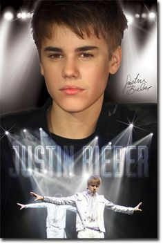 Justin Bieber - Stage Poster