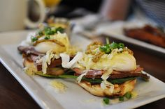 From classic versions of this tempting brunch staple to playful renditions, here are the best Eggs Benedict dishes in Vancouver. Chicken And Waffles, Breakfast Options, Poached Eggs, Served Up, Food Truck, So Little Time, A Food, Vancouver, Brunch