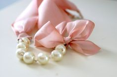 The Carrie Necklace in Blush by erinkeys on Etsy, $28.50