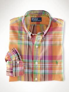 Nice Madras shirt. Reminds me of some fabric I need to make into a suit. Know any menswear tailors?