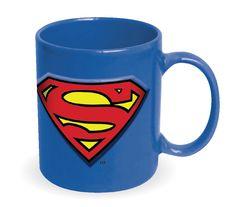 Not Just Toyz - Superman Embossed Logo Blue 20 oz. Ceramic Mug, $11.99 (http://www.notjusttoyz.com/superman-embossed-logo-blue-20-oz-ceramic-mug/)
