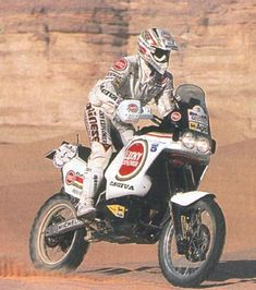 1990 | Cagiva Elephant 900 Edi ORIOLI Offroad, Rallye Paris Dakar, Rallye Raid, Course Automobile, Motorcycle Types, Courses, Cool Bikes, Ducati, Cars And Motorcycles