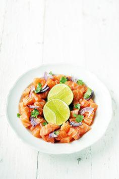 Ceviche de saumon