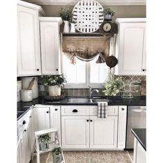 49 pretty farmhouse kitchen makeover design ideas on a budget 28 ⋆ All About Home Decor