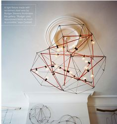 Cool lighting. Get inspired by Confident Living!