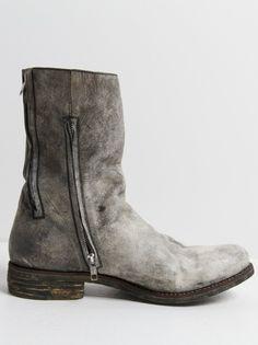 A DICIANNOVEVENTITRE - Dual-Zip Horse Leather Boot - S15-ST3 MUTA - H. Lorenzo
