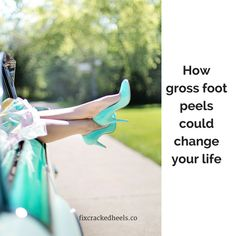 How to fix your dry cracked heels - Do you have cracked skin, dry skin, heel fissures?