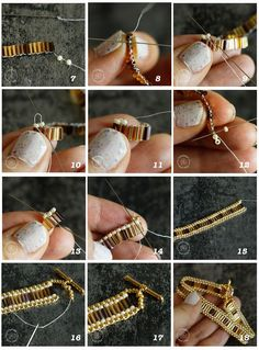How to Use Bugle Beads with Two Jewelry Projects Learn step-by-step How to Use Bugle Beads to create a classic brick stitch bracelet.Learn step-by-step How to Use Bugle Beads to create a classic brick stitch bracelet. Red Earrings, Crystal Earrings, Crystal Jewelry, Beaded Earrings, Diy Seed Bead Earrings, Clay Jewelry, Fine Jewelry, Jewelry Making, Jewelry Findings