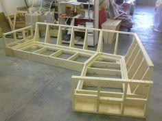 realizzazione fusto in legno
