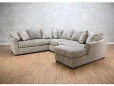 Klaussner Living Room Pinecrest 3 Piece Sectional G71353  #LivingRoomRemodeling