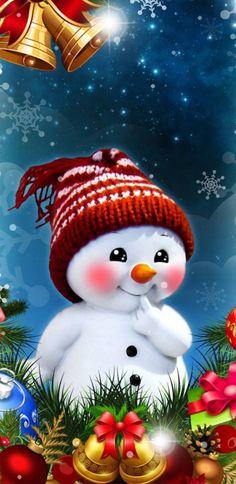 Christmas Snowman wallpaper by KittyMan1234 - 8f50 - Free on ZEDGE™
