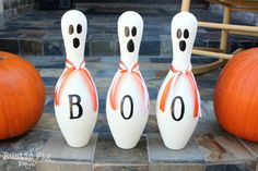 Bowling Pin Ghosts