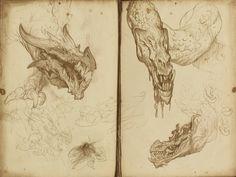 Justin Gerard - 2014 Sketchbook work
