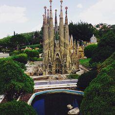 Sagrada Familia bez dźwigów? Tylko w parku miniatur. #catalunyaenminiatura #sagradafamilia #spain #catalonia #catalunya #barcelona #hiszpania