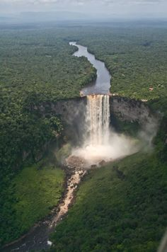 Kaieteur Falls, Guyana- for more info visit www.amazingplacesonearth.com
