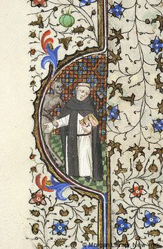 dominican monk Book of Hours, MS M.359 fol. 142v - Images from Medieval and Renaissance Manuscripts - The Morgan Library & Museum