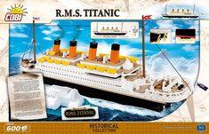 Cobi Titanic R.M.S. Uusi 600 Osaa, Rakennussarja - Korhone.com Titanic, Martini, Easy, Martinis