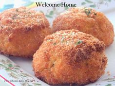 Welcome Home: Chicken Croquettes