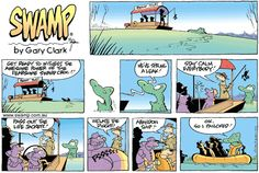 Old Man Croc is caught up in the commotion and panics. www.swamp.com.au
