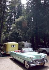For Sale 1963 Sears Vintage Tent Camper Utility Trailer