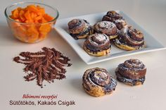 Sütőtökös, Kakaós Csigák | Bibimoni Receptjei