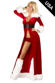 a8a3bc5b096 Seduce the wealthiest man of the North Pole in this sexy Mistress Mrs. Claus  Christmas