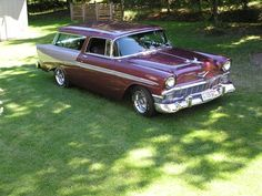 1956 chevy nomad,i just want one ov these <3