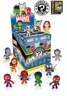 SDCC 2014 Exclusive Deadpool Funko Marvel Mystery Minis