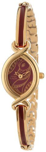 Women's Wrist Watches - Titan Womens 2251YM25 Raga Jewelry Inspired GoldTone Watch >>> Be sure to check out this awesome product.