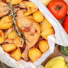 Cuisses de poulet pommes de terre au Cookeo