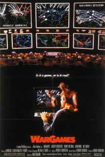 Directed by John Badham. With Matthew Broderick, Ally Sheedy, John Wood, Dabney Coleman. A young man finds a back door into a military central computer in which reality is confused with game-playing, possibly starting World War III. 80s Movies, Great Movies, Movie Tv, Awesome Movies, 1980s Films, Excellent Movies, Movie List, Laurence Anyways, Dabney Coleman
