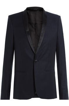 THE KOOPLES Wool Blazer with Satin. #thekooples #cloth #blazers
