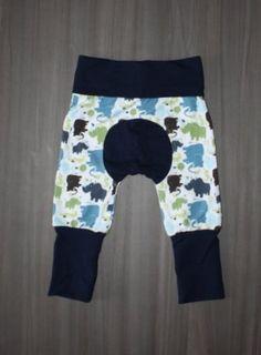 AppleCheeks Inspired MINI Grow With Me Pants Lil Monkey Cheeks