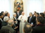 Pope Francis meets with Israel's Netanyahu